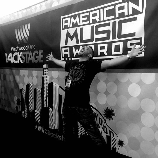 DJ Dan at the American Music Awards!