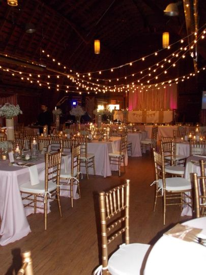 We LOVE a rustic setting!  The local Lansing barn venue is Woldumar Nature Center.  We provided all...