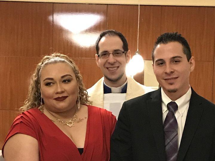 Tmx 1518664501 15419173c1d69185 1518664498 026b21f172eb3f55 1518664482809 1 E5E5B042 B614 4D5C Kearny, NJ wedding officiant