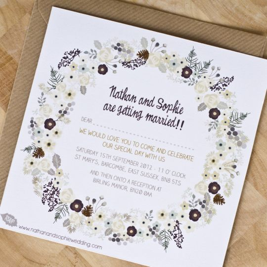 We tie the knot invitations loughborough weddingwire for Wedding registry the knot