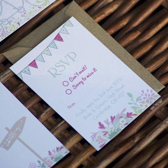 we tie the knot wedding stationery kew 01