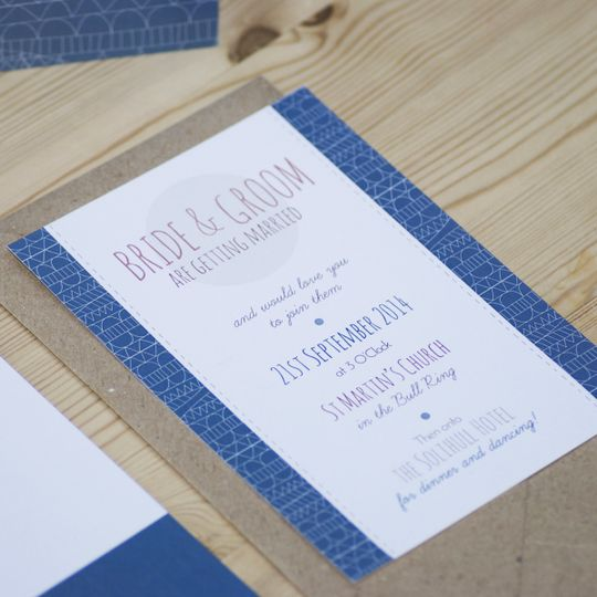we tie the knot wedding stationery windermere 1