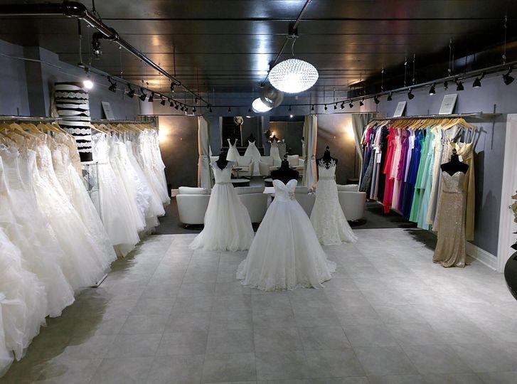 Brand new modern showroom