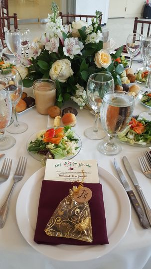 Place setting plated