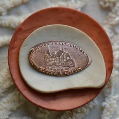 Tmx 1394285483128 Custom Wedding Pressed Pennies For Wedding Favors  Charlotte, NC wedding favor