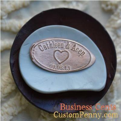 Tmx 1394285485219 Custom Wedding Pressed Pennies For Wedding Favors  Charlotte, NC wedding favor