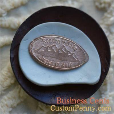 Tmx 1394285488534 Custom Wedding Pressed Pennies For Wedding Favors  Charlotte, NC wedding favor