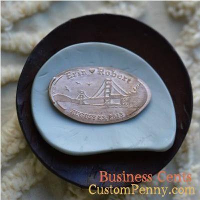 Tmx 1394285489825 Custom Wedding Pressed Pennies For Wedding Favors  Charlotte, NC wedding favor