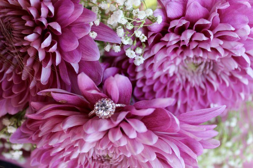 RIng + Flowers