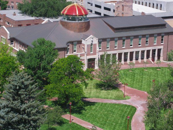 Tmx 1295555944839 AerialBuildingView Denver, Colorado wedding venue