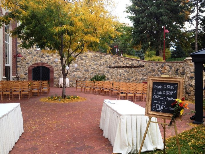 Tmx 1422914154203 Patio Wedding3 Denver, Colorado wedding venue