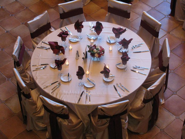 Tmx 1422914175219 Rented Cream And Burgundy Detail Denver, Colorado wedding venue