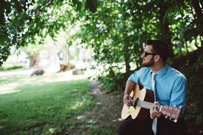 @nickconsone, playing an acoustic set at a beautiful ceremony in Jackson, NH. We offer Piano,...