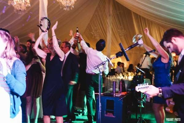 Great crowd at Lee & Jarrod's wedding in Wrentham! Thanks @justinemjohnson for the amazing shots!...