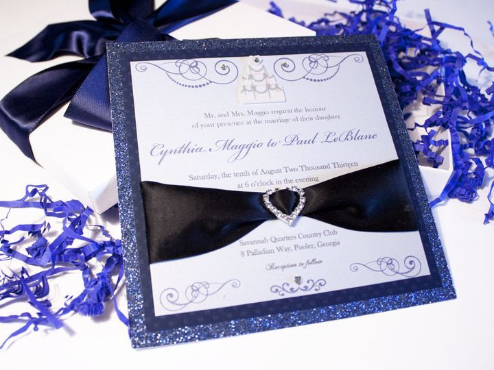 Tmx 1369933874115 Img3208 Winter Park, FL wedding invitation