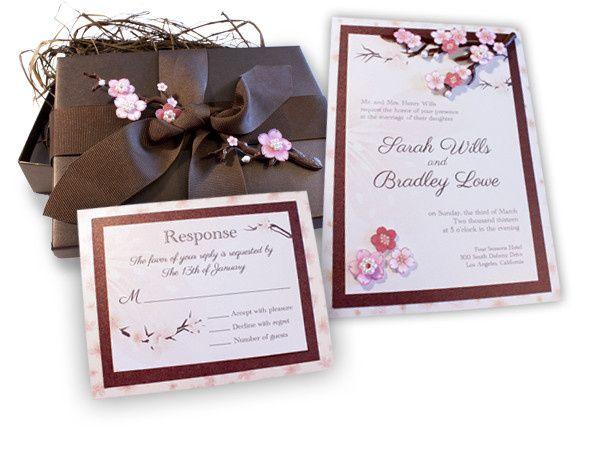 Tmx 1369937186158 Cherryblossominvite Winter Park, FL wedding invitation