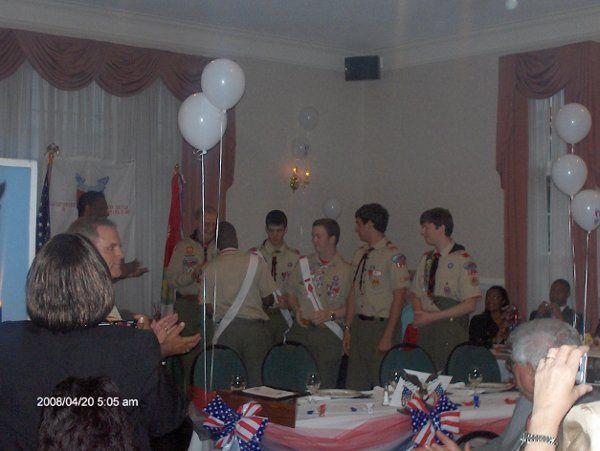 Tmx 1221682104522 EagleScoutReception Richmond, VA wedding planner