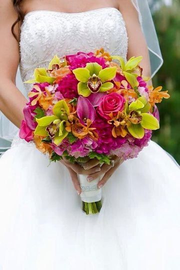 Colorful arrangements