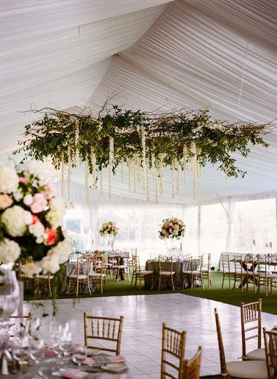 greenery chandelier1
