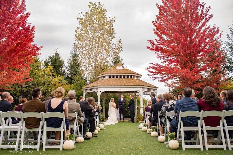 October ceremony