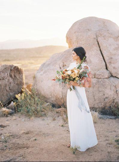Desert Garden Style Bouquet