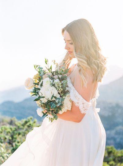 Mountainside Bride Bouquet
