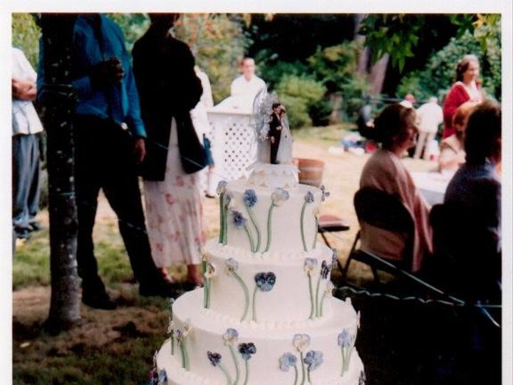 Tmx 1374858490848 Tricia And Euan 1 Arcata wedding cake