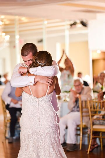 First dance, love.