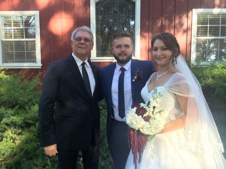 Photo with newlyweds