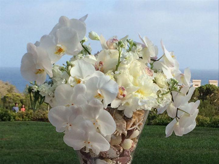 Tmx 1426128082890 Beach Escort Table Arrangement Redondo Beach, California wedding florist