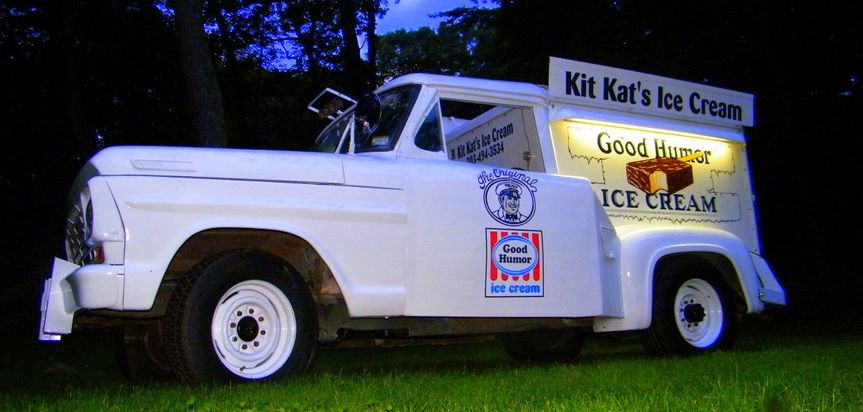 kitkats ice cream truck