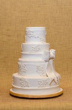 Tmx 1398396739562 Bow Brooklyn wedding cake
