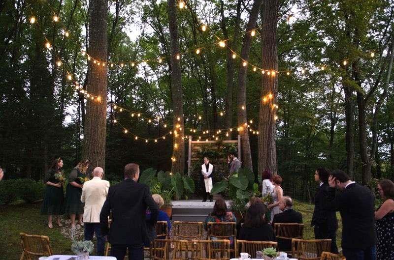 Dawn wedding