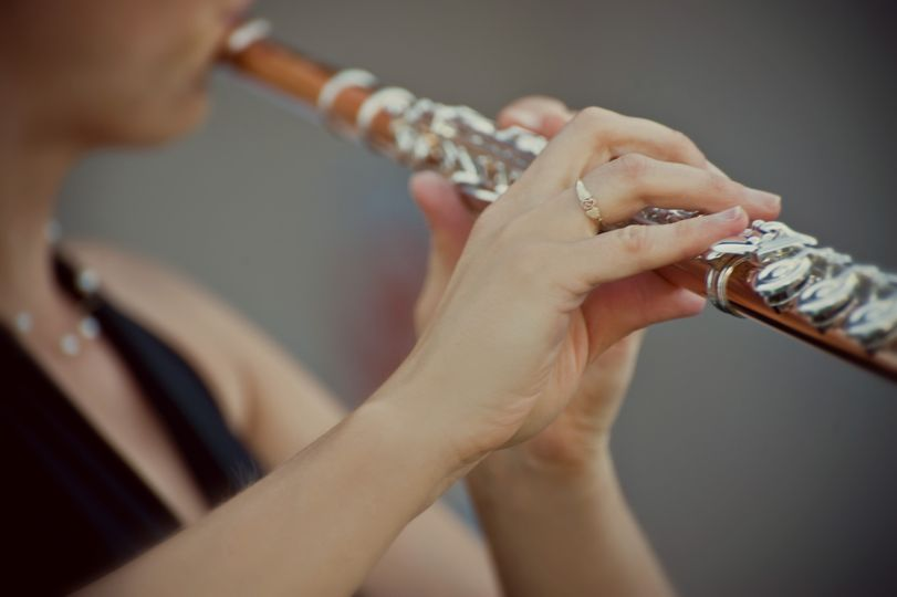 Christen Stephens will play beautiful solo flute music for your wedding ceremony