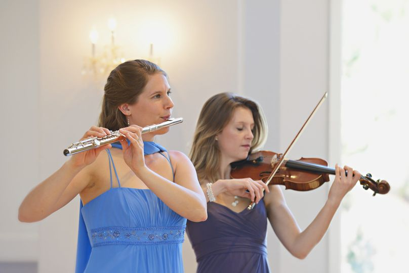 Flute and Violin Wedding Duo
