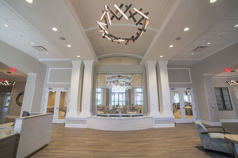 Front Lobby with Fountain