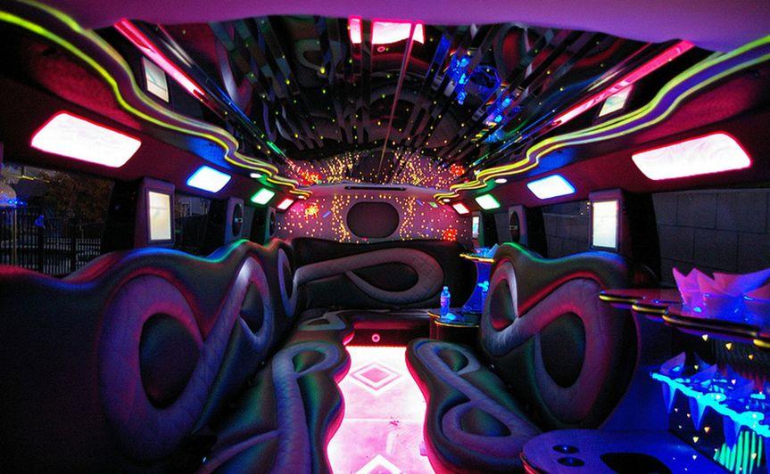 Interior Humme 2 SUV Limousine