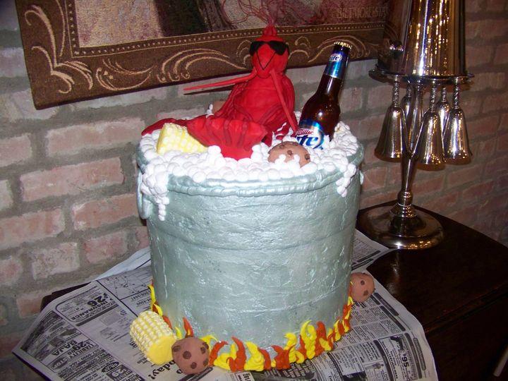 Tmx 1403735736552 Groom 128 League City, Texas wedding cake