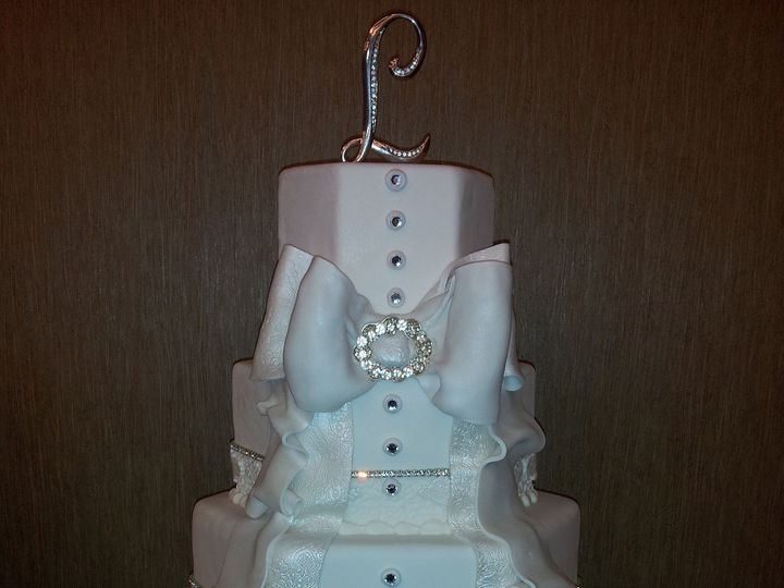 Tmx 1403736975482 Wedding 299 League City, Texas wedding cake