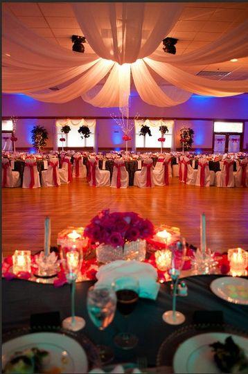 Ballroom transformed