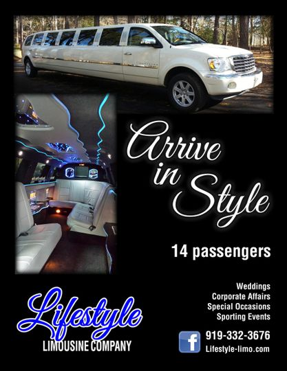 Aspen SUV Stretch Limousine holds 12 to 13 people.