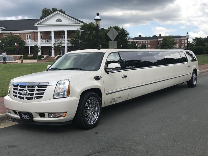 Cadillac escalade stretch limo 18-20 passengers