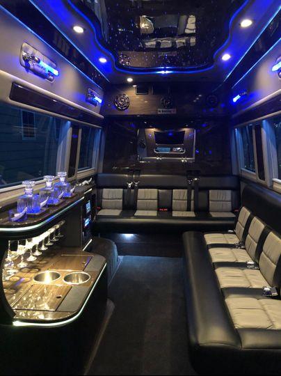 Sprinter Party Limo Van
