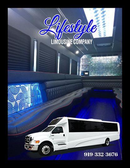 Limousine Party Bus