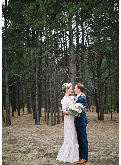 black forest colorado wedding la foret