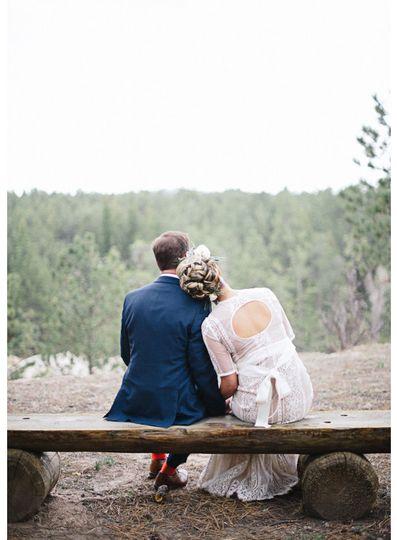 black forest colorado wedding la foret scenic
