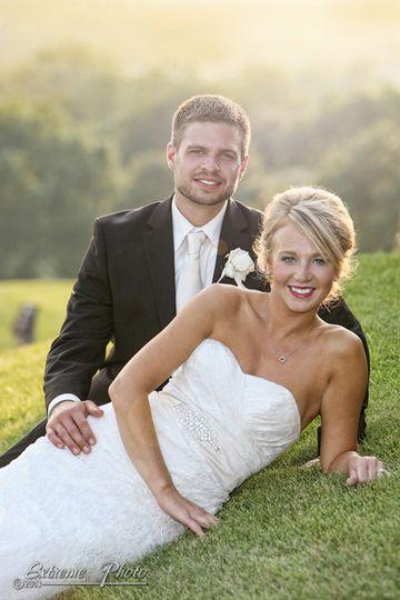 wedding scenic extreme photo