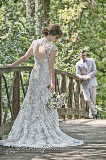 wedding, bridal, extreme photo