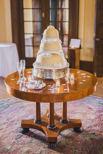 Tiered princess cake