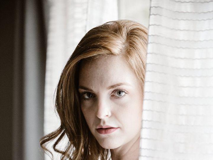 Tmx Woman With Red Hair Gazing Through Curtains In Lingerie 51 558534 1567107464 Middleton, WI wedding photography